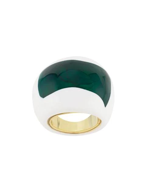 Essentiel Antwerp Ring Mit Harz In White