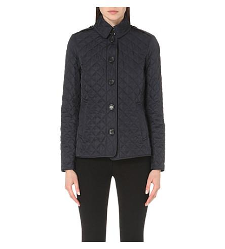 Burberry Ashurst Classic Modern Quilted Jacket In Black