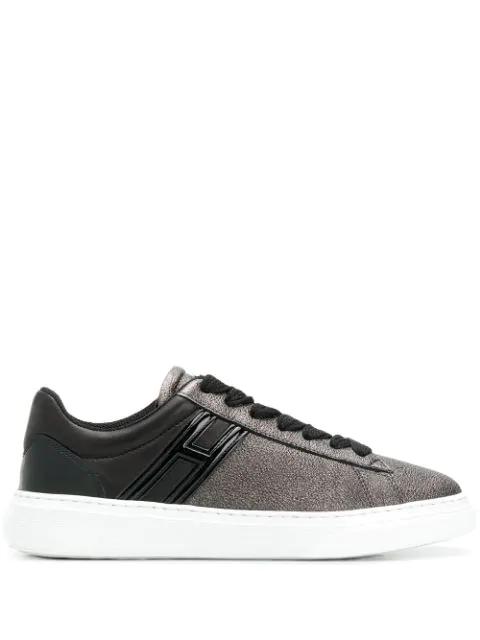 Hogan Low-top Sneakers In Black
