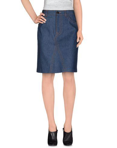 Prada Denim Skirt In Blue