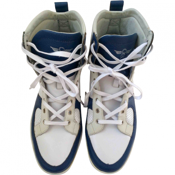 Creative Recreation White Leather Trainers