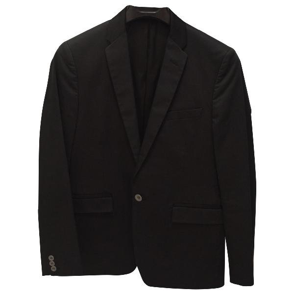 Azzaro Black Cotton Jacket