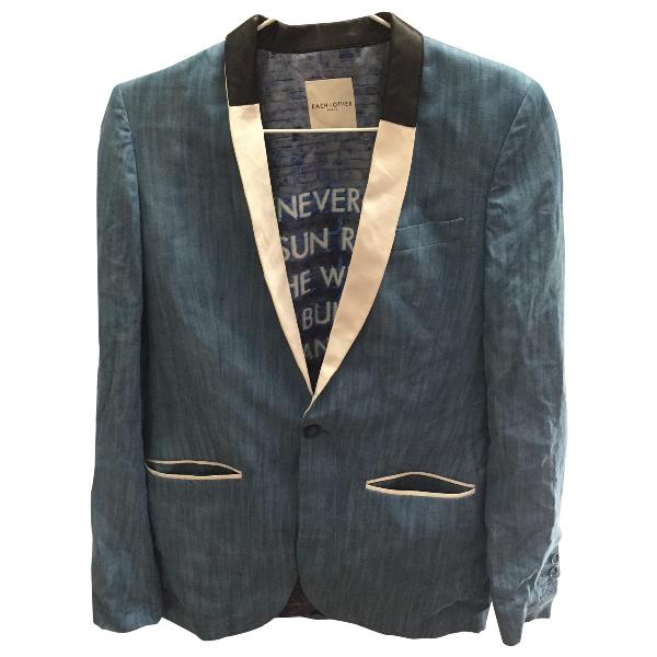 Each X Other Each X  Blue Cotton Suits
