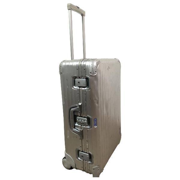 Rimowa Silver Metal Bag