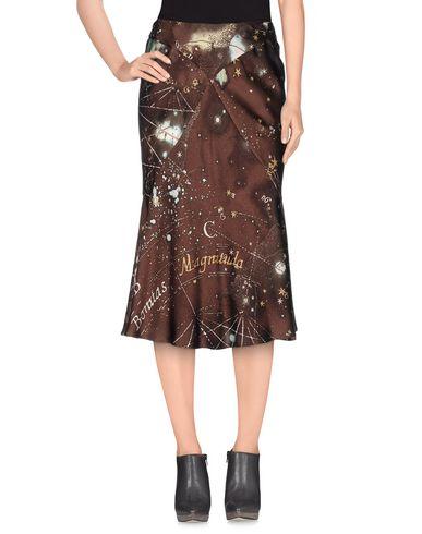 Roberto Cavalli 3/4 Length Skirts In Cocoa
