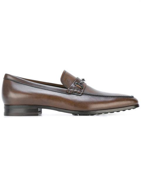 Tod's Classic Driving Shoes In Brown