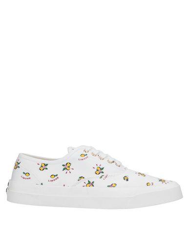 Maison Kitsuné Sneakers In White