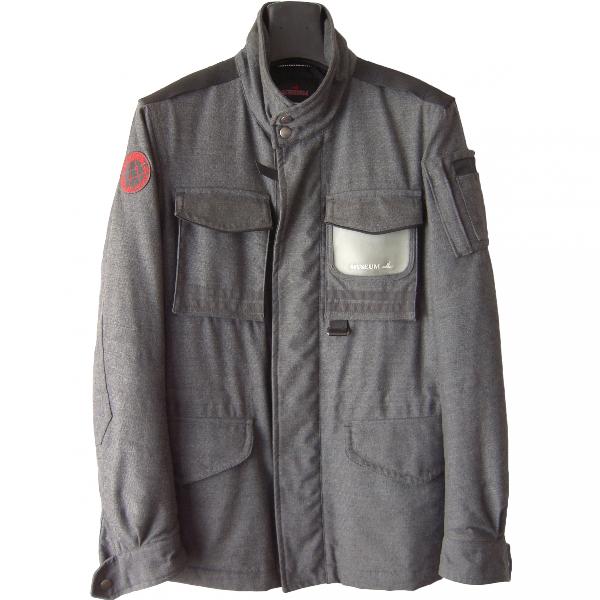 Museum Grey Cotton Jacket