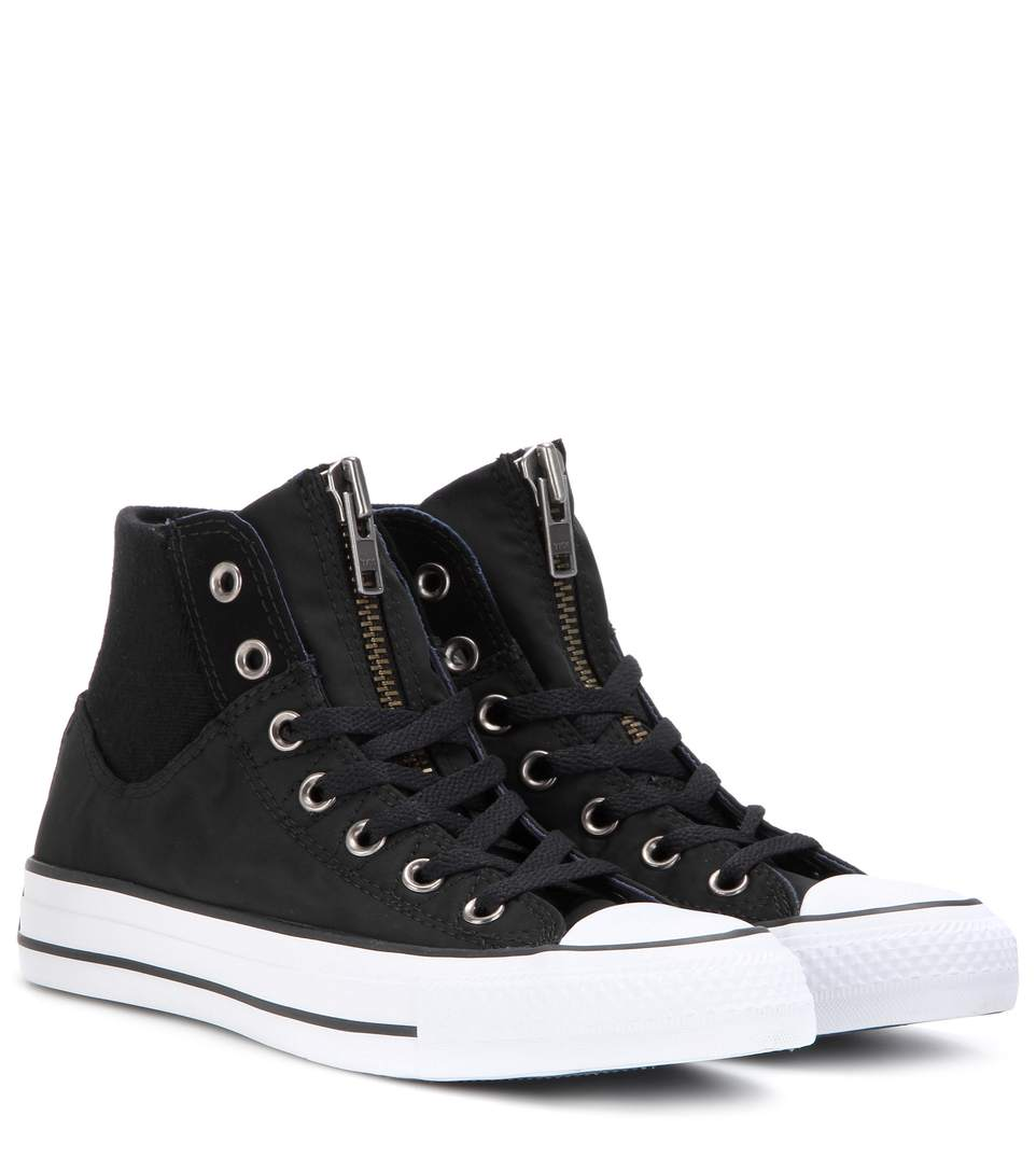 Converse Women's Chuck Taylor Hi Aztec Print Casual Sneakers From Finish Line In Black