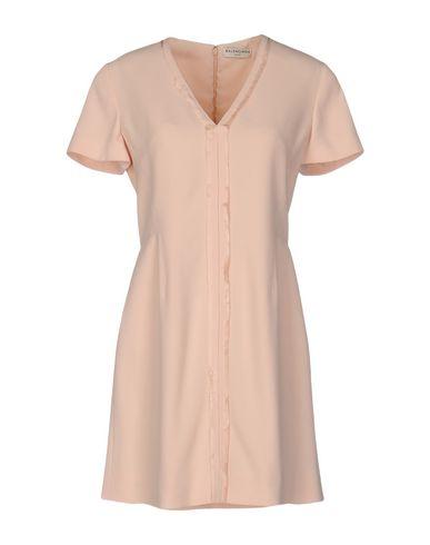 Balenciaga Short Dresses In Light Pink