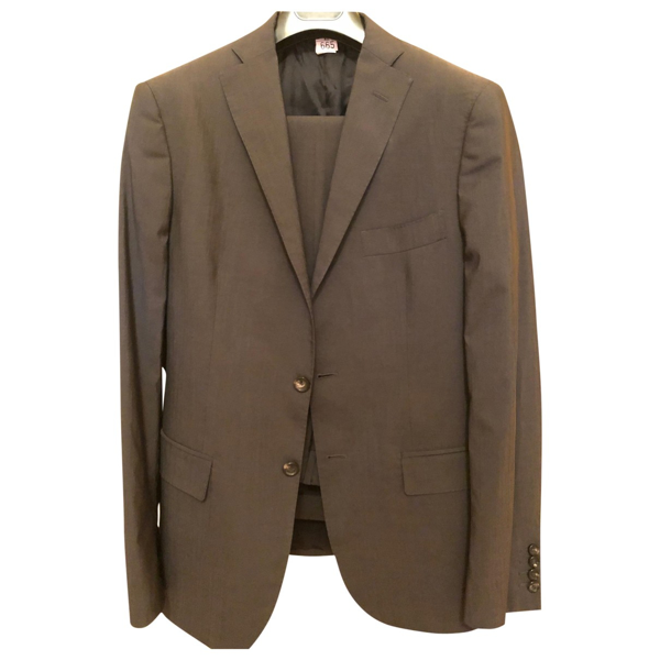 Tonello Grey Wool Suits