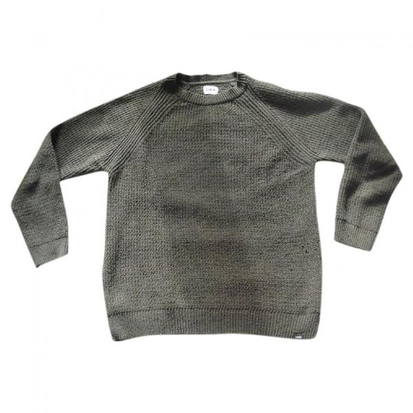 Edwin Khaki Cotton Knitwear & Sweatshirts