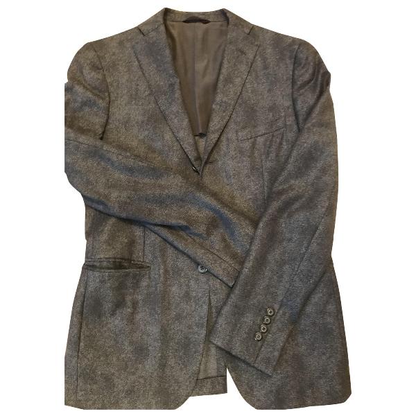 Tonello Grey Wool Jacket