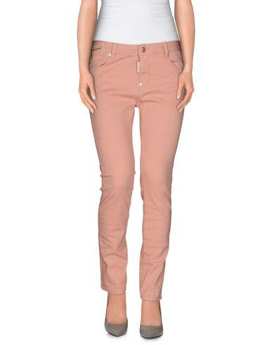 Dsquared2 Denim Pants In Salmon Pink