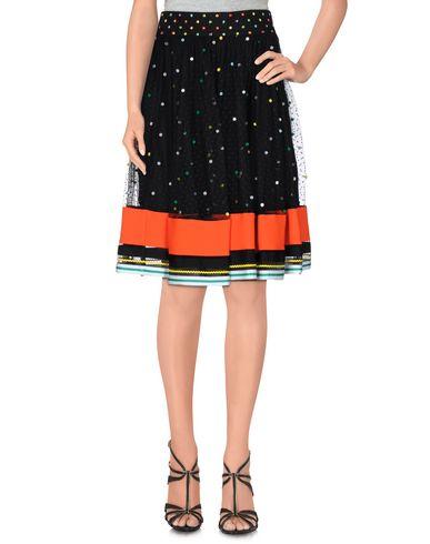 Mary Katrantzou Knee Length Skirts In 黑色