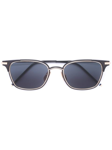 Thom Browne Eyewear Square Frame Sunglasses - Black