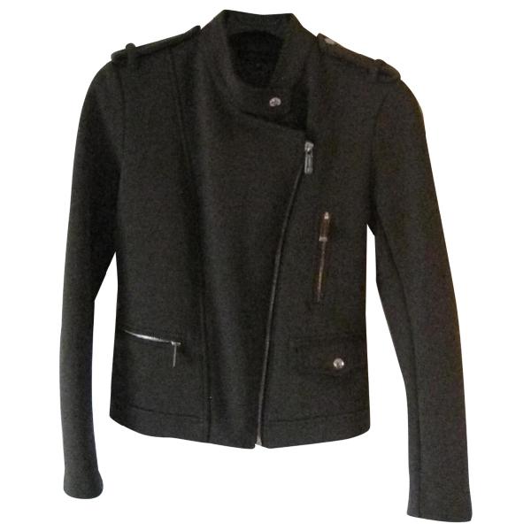 Barbara Bui Khaki Leather Jacket