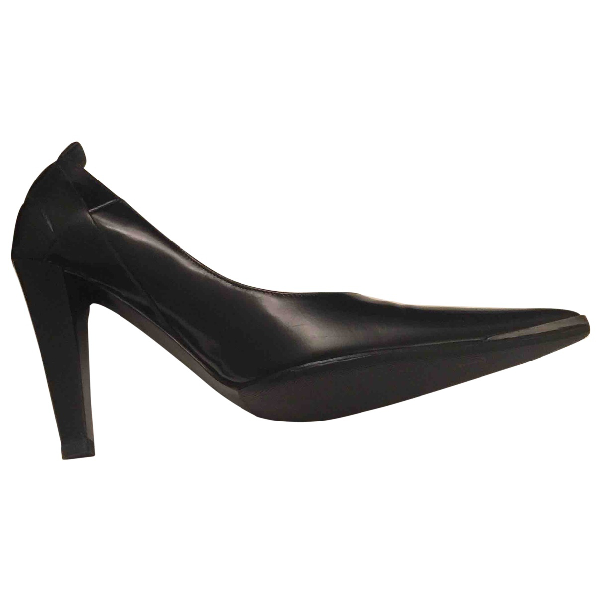 Barbara Bui Black Leather Heels