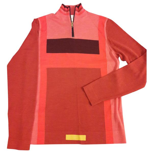 Paul Smith Orange Wool Knitwear