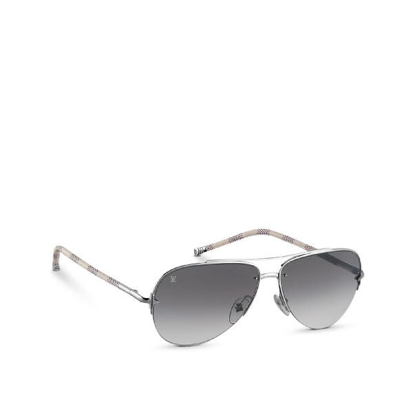 9b145efd8de Louis Vuitton Petite Viola Pilote Sunglasses | ModeSens