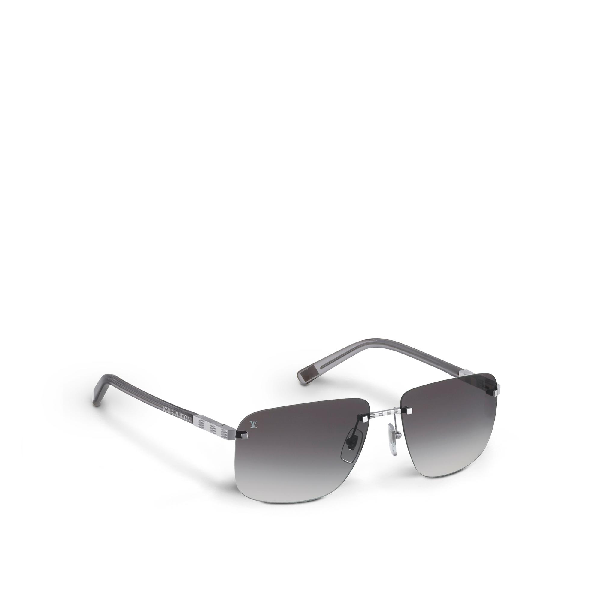 b1486543421 Louis Vuitton Attraction Rimless Mm In Silver | ModeSens