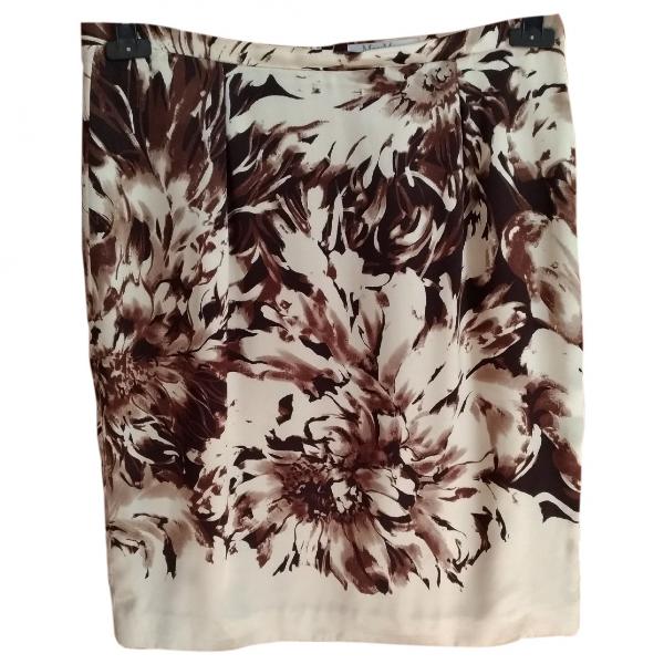 Max Mara Multicolour Silk Skirt