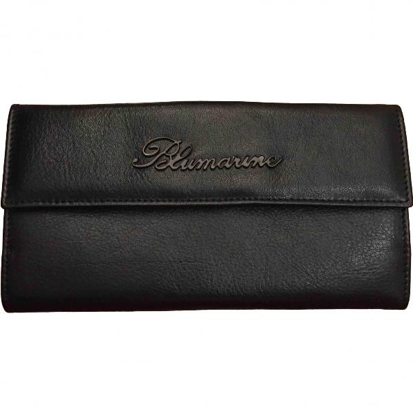 Blumarine Black Leather Wallet