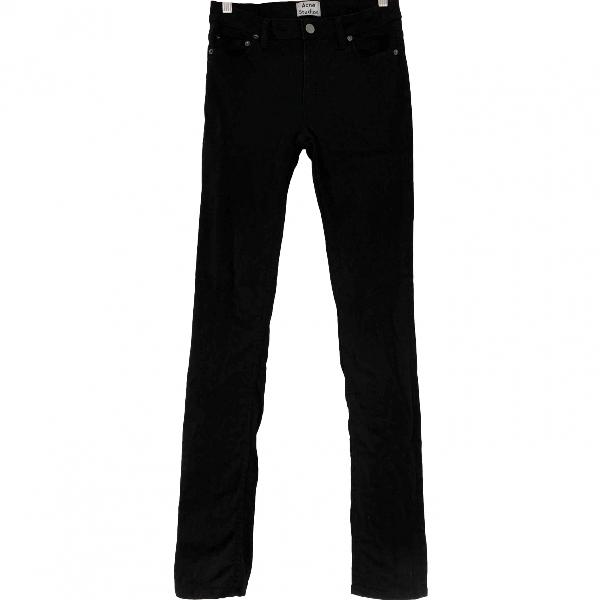 Acne Studios Black Cotton Jeans