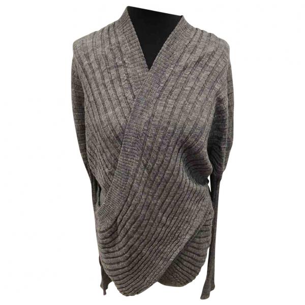 Alexander Wang Grey Wool Knitwear