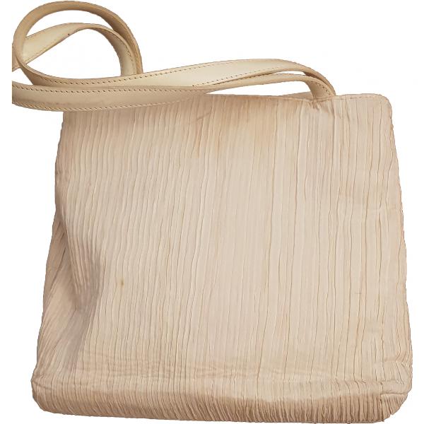 Dior White Cloth Handbag