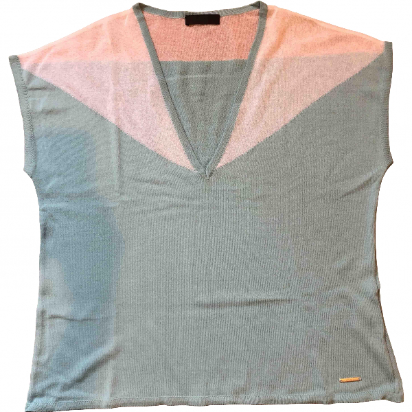 Costume National Blue Cotton  Top