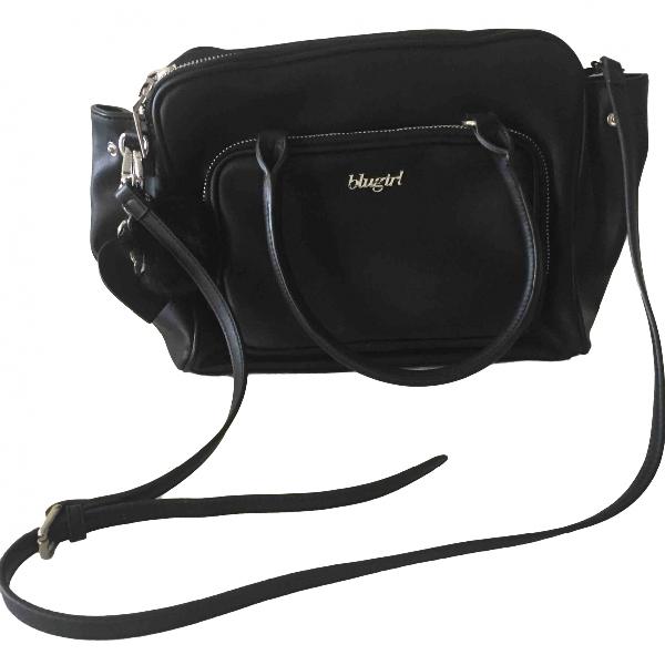 Blumarine Black Leather Handbag