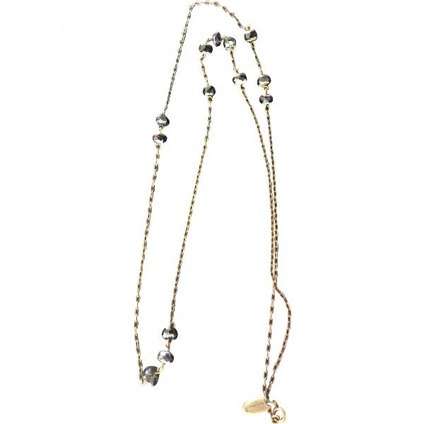 Isabel Marant Black Metal Necklace