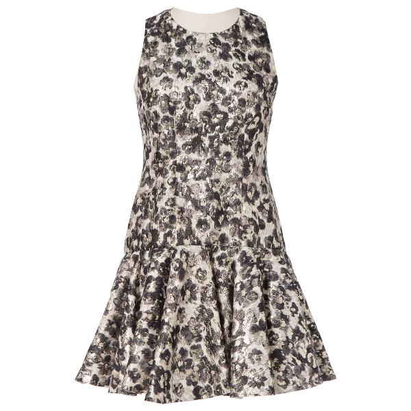 Giambattista Valli Multicolour Silk Dress