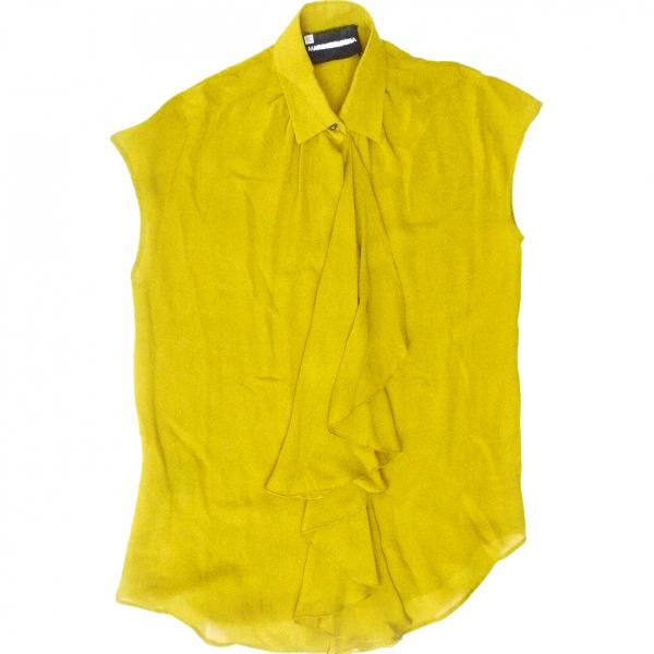 Marco Bologna Yellow Silk  Top