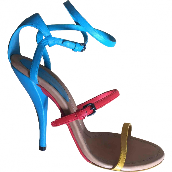 Bottega Veneta Multicolour Leather Sandals