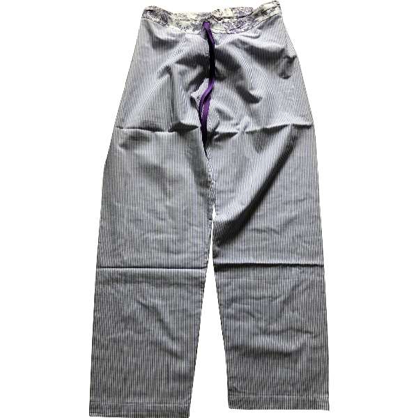 Princesse Tam Tam Purple Cotton Trousers