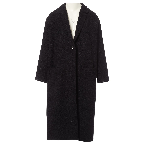 Lala Berlin Black Wool Coat