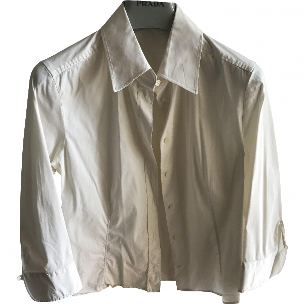 Prada Beige Cotton  Top