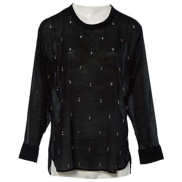 Isabel Marant Black Silk  Top