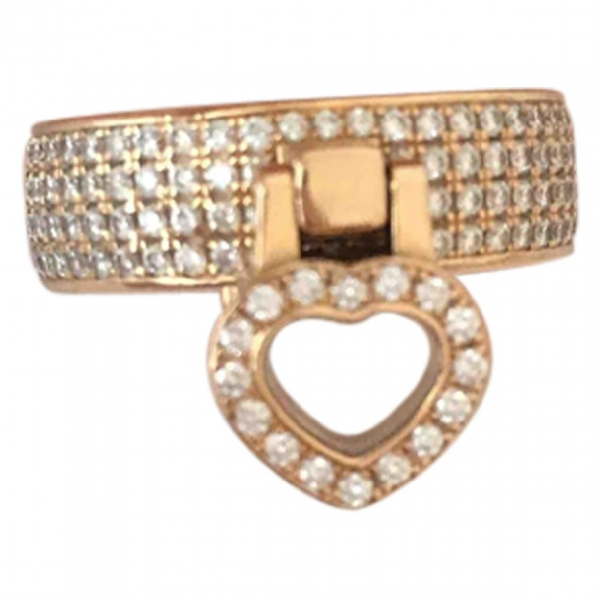 Chopard Happy Diamonds Pink Pink Gold Ring