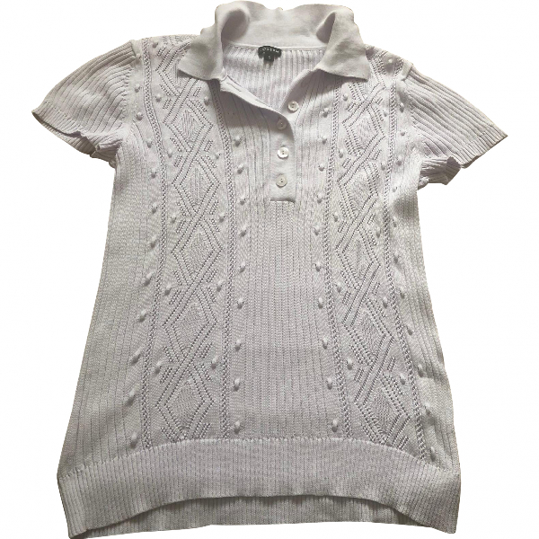 Joseph Purple Cotton Knitwear