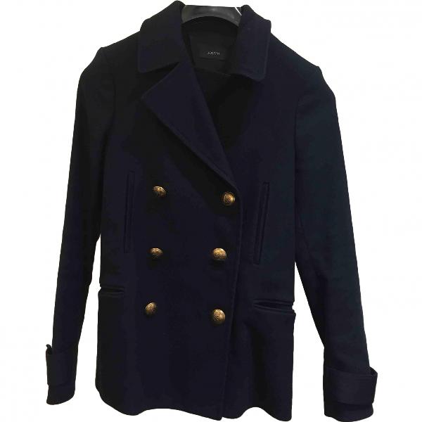 Joseph Blue Cotton Coat