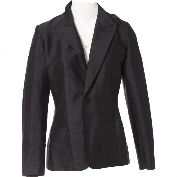 Jean Paul Gaultier Black Silk Jacket