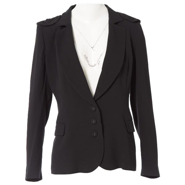 Emanuel Ungaro Black Silk Jacket