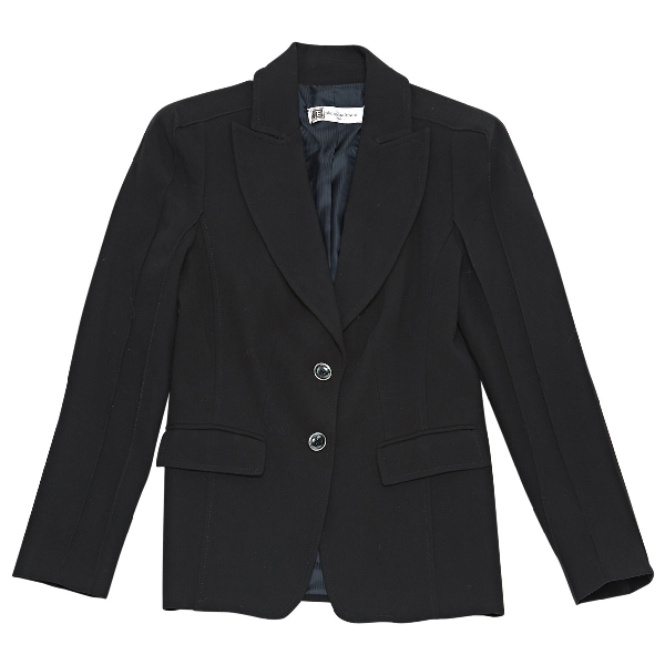Pierre Balmain Black Wool Jacket