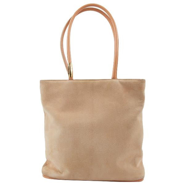 Gucci Beige Leather Handbag