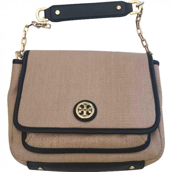 Tory Burch Camel Cloth Handbag