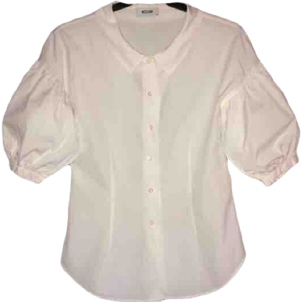 Moschino White Cotton  Top
