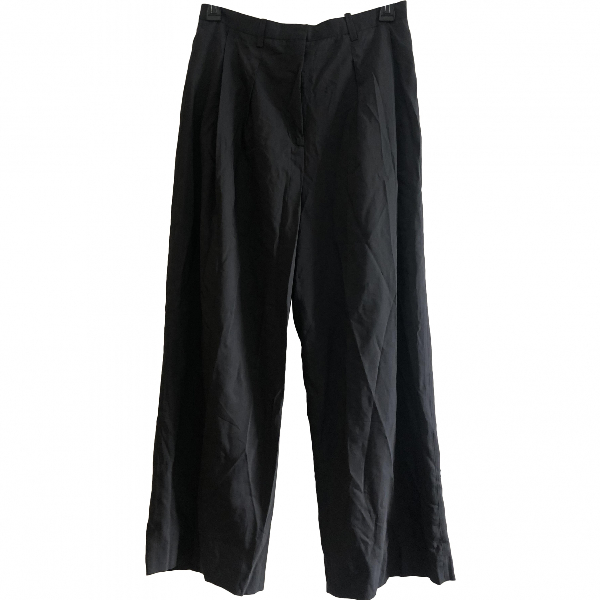 Acne Studios Anthracite Trousers